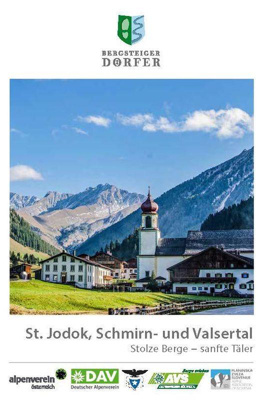Bucheinband von 'St. Jodok, Schmirn- und Valsertal - Stolze Berge − sanfte Täler'