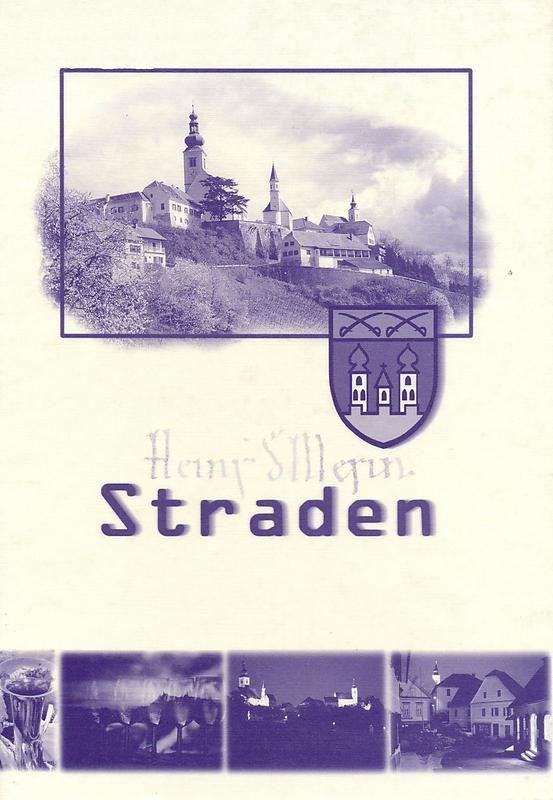 Cover of the book 'Straden'