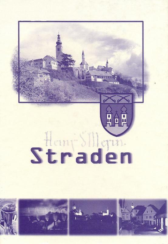 Bucheinband von 'Straden'