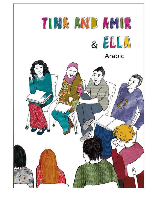 Bucheinband von 'Tina and Amir & Ella - Arabic'