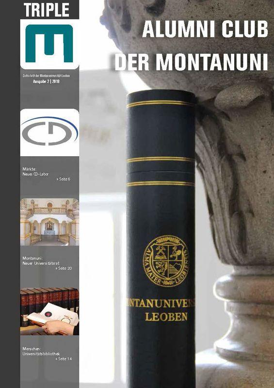 Bucheinband von Triple M - Zeitschrift der Montanuniversität Leoben, Band 2|2018