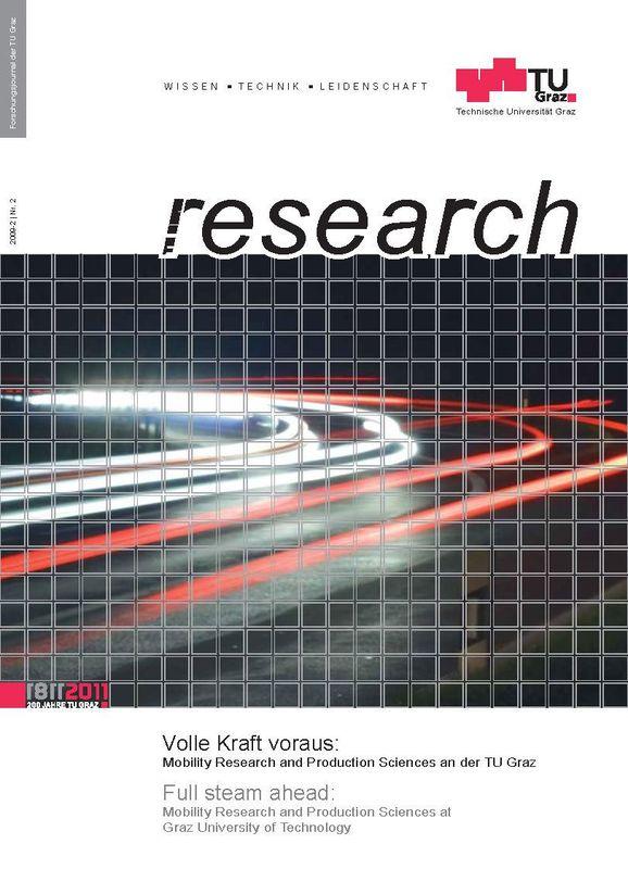 Bucheinband von 'TU Graz Research 02|2009, Band 2'