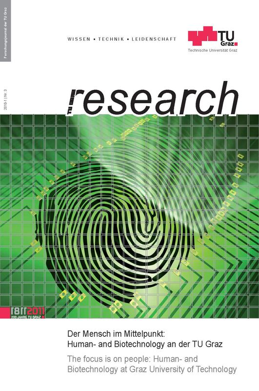 Cover of the book 'TU Graz Research 03|2010, Volume 3'