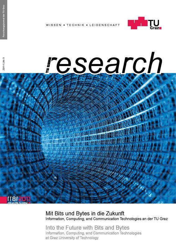 Bucheinband von 'TU Graz Research 05|2011, Band 5'