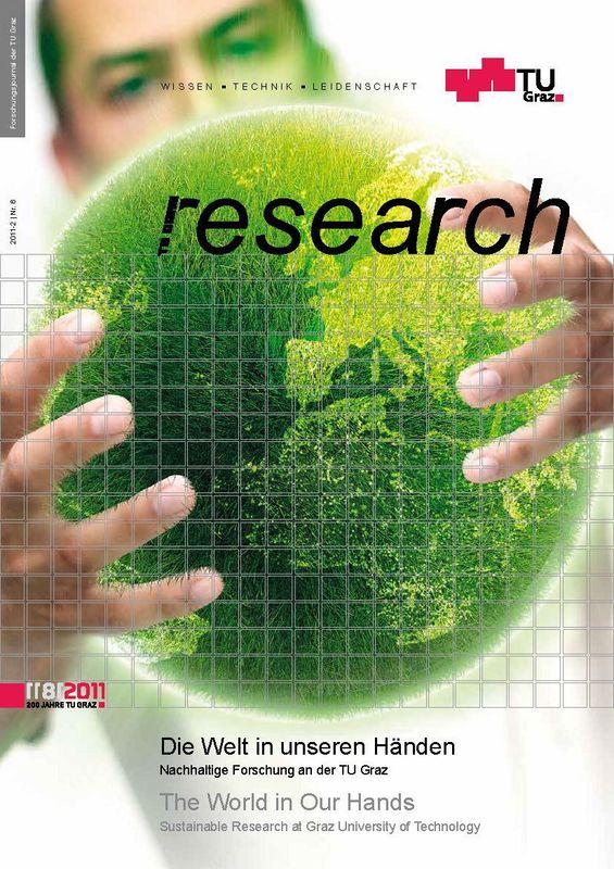 Bucheinband von 'TU Graz Research 06|2011, Band 6'