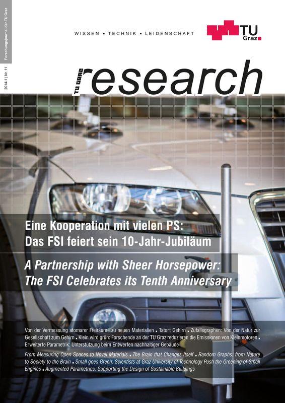 Bucheinband von 'TU Graz Research 11|2014, Band 11'