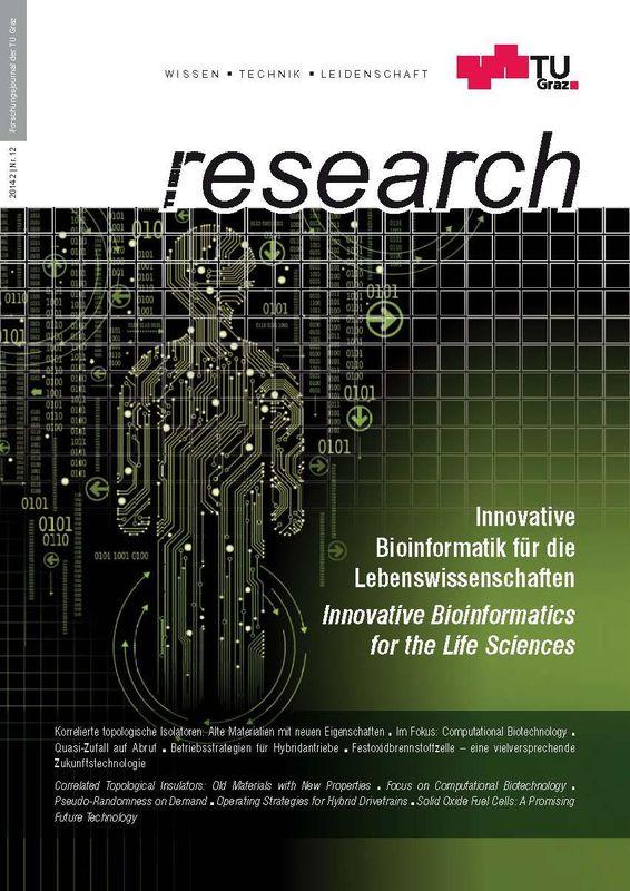 Bucheinband von 'TU Graz Research 12|2014, Band 12'