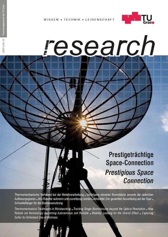 Bucheinband von 'TU Graz Research 13|2015, Band 13'
