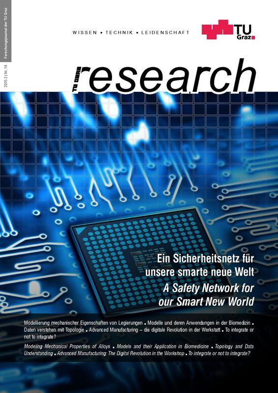 Bucheinband von 'TU Graz Research 14 2015, Band 14'