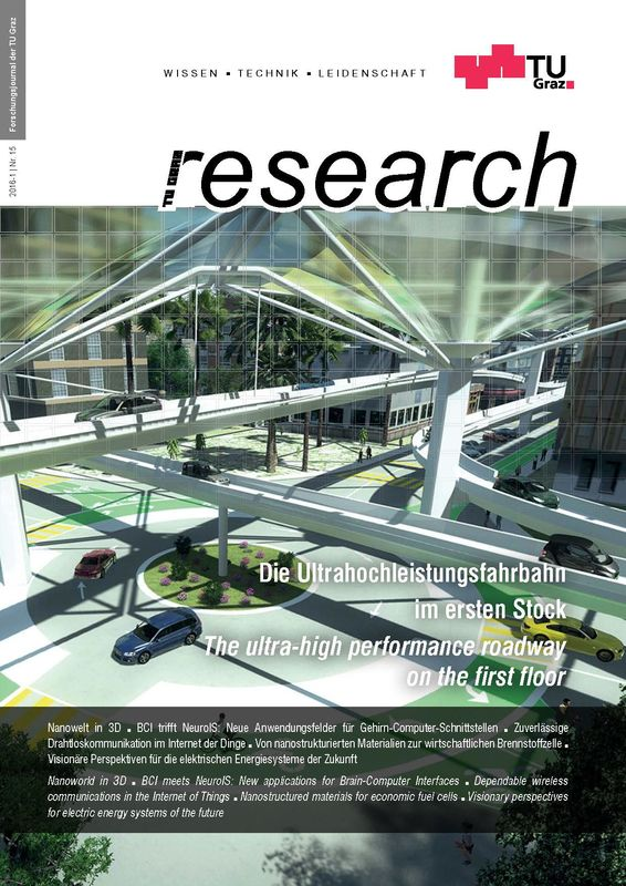 Bucheinband von 'TU Graz Research 15|2016, Band 15'