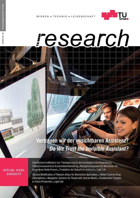Bucheinband von 'TU Graz Research 16|2016, Band 16'