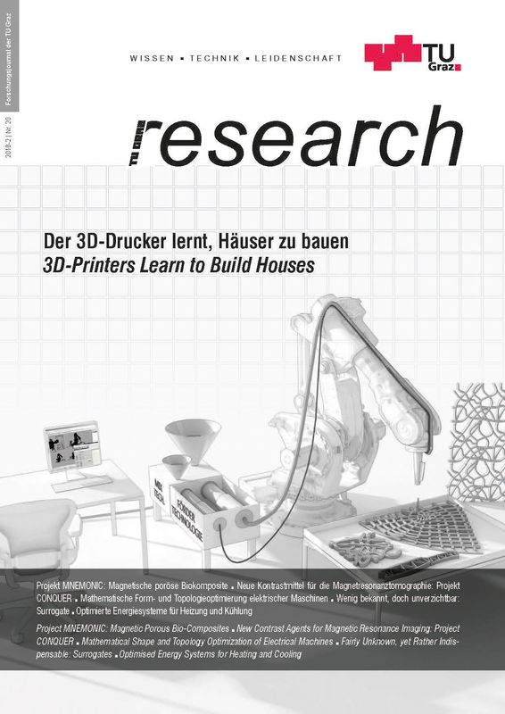 Bucheinband von 'TU Graz Research 20|2018, Band 20'
