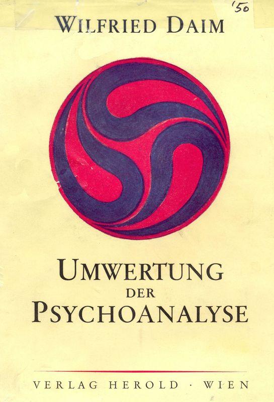 Bucheinband von Umwertung der Psychoanalyse