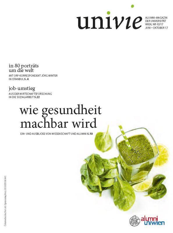 Bucheinband von 'univie - Alumni-Magazin der Universität Wien, Band 02/17'