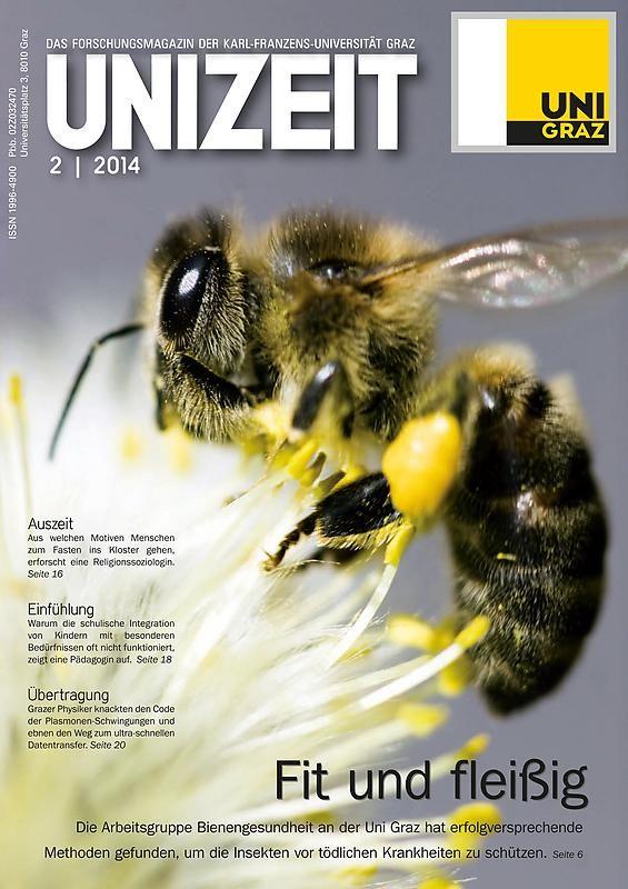 Cover of the book 'UNIZEIT - Das Forschungsmagazin der Karl-Franzens-Universität Graz, Volume 2|2014'