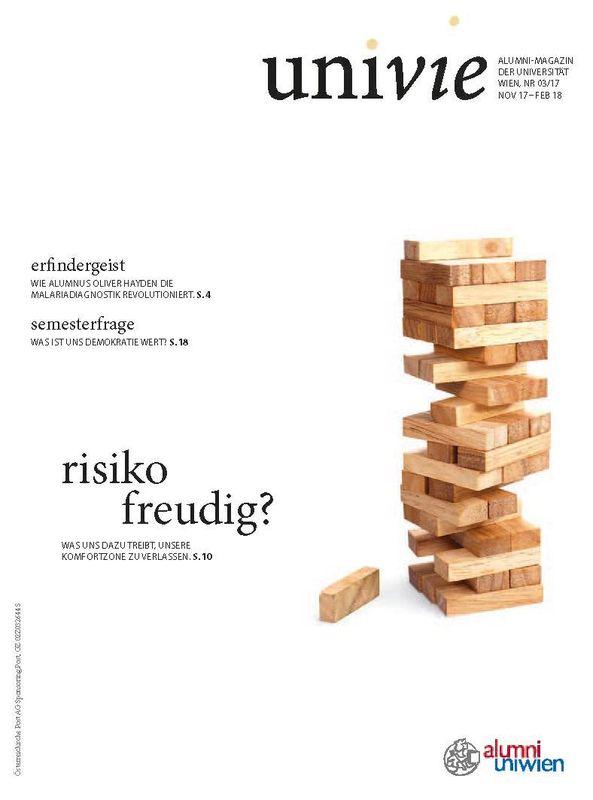 Bucheinband von univie - Alumni-Magazin der Universität Wien, Band 03/17