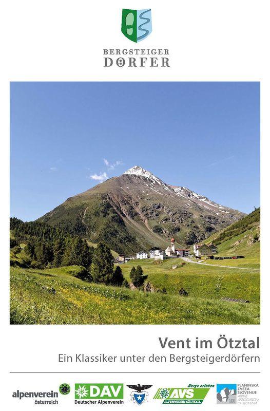 Bucheinband von 'Vent im Ötztal - Ein Klassiker unter den Bergsteigerdörfern'