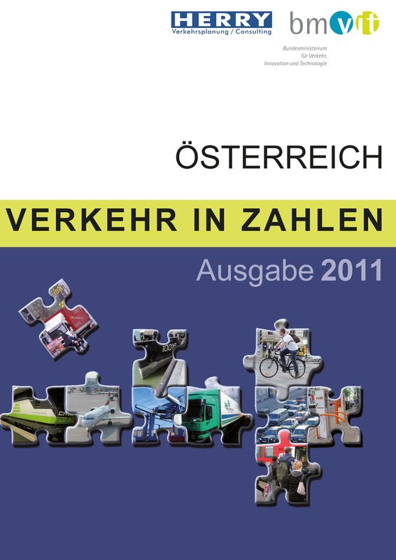 Bucheinband von 'Verkehr in Zahlen'
