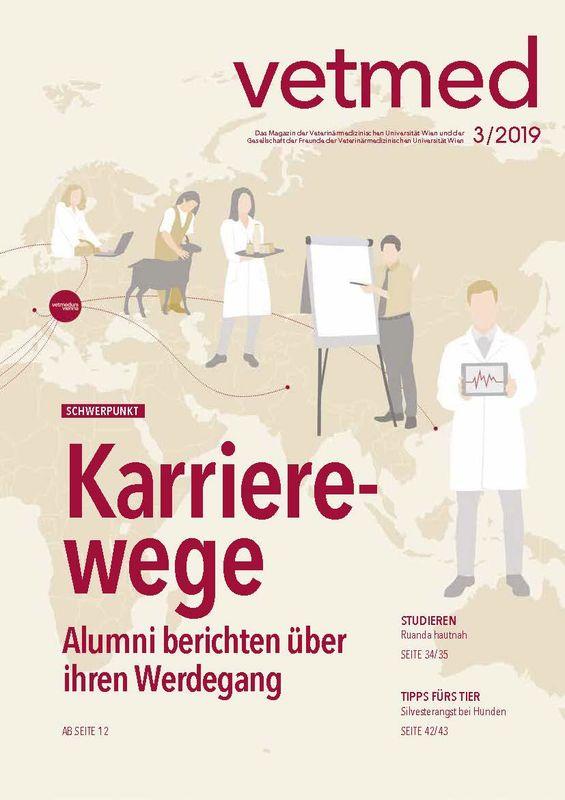 Bucheinband von 'vetmed - Das Magazin der Veterinärmedizinischen Universität Wien und der Gesellschaft der Freunde der Veterinärmedizinischen Universität Wien, Band 3/2019'