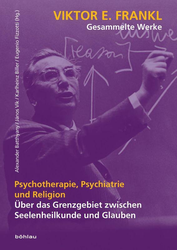 Bucheinband von 'Viktor E. Frankl - Gesammlte Werke'