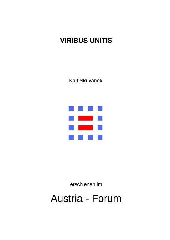 Cover of the book 'VIRIBUS UNITIS - Gedenkfeiern  für die  k.u.k.Kriegsmarine in Budapest'