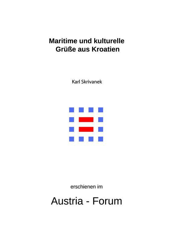 Bucheinband von 'Maritime und kulturelle Grüße aus Kroatien'
