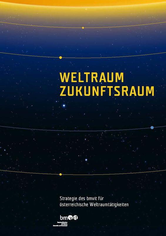 Bucheinband von 'Weltraum Zukunftstraum'