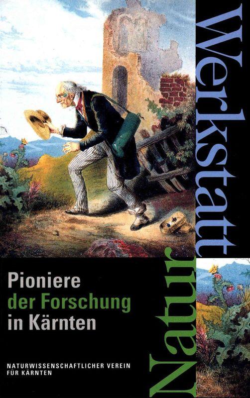 Bucheinband von 'Werkstatt Natur - Pioniere der Forschung in Kärnten'
