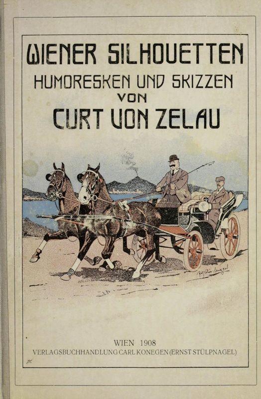 Bucheinband von 'Wiener Silhoutten - Humoresken und Skizzen'