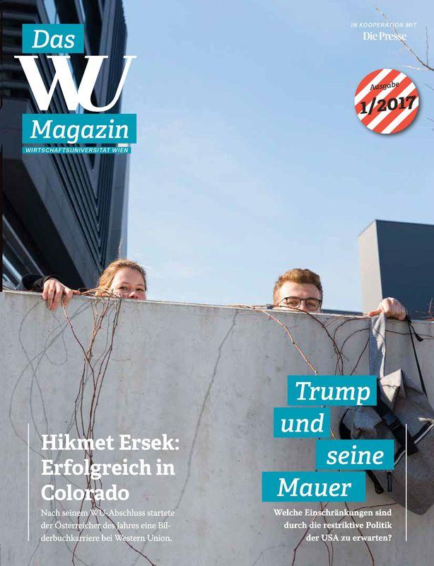 Bucheinband von 'WU Magazin - Information aus der Wirtschaftsuniversität Wien, Band 1/2017'