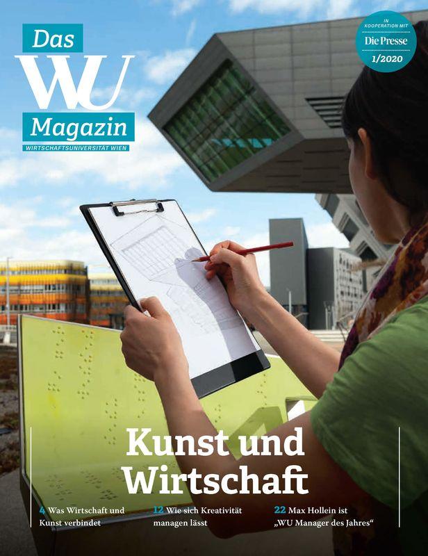 Bucheinband von 'WU Magazin - Information aus der Wirtschaftsuniversität Wien, Band 1/2020'