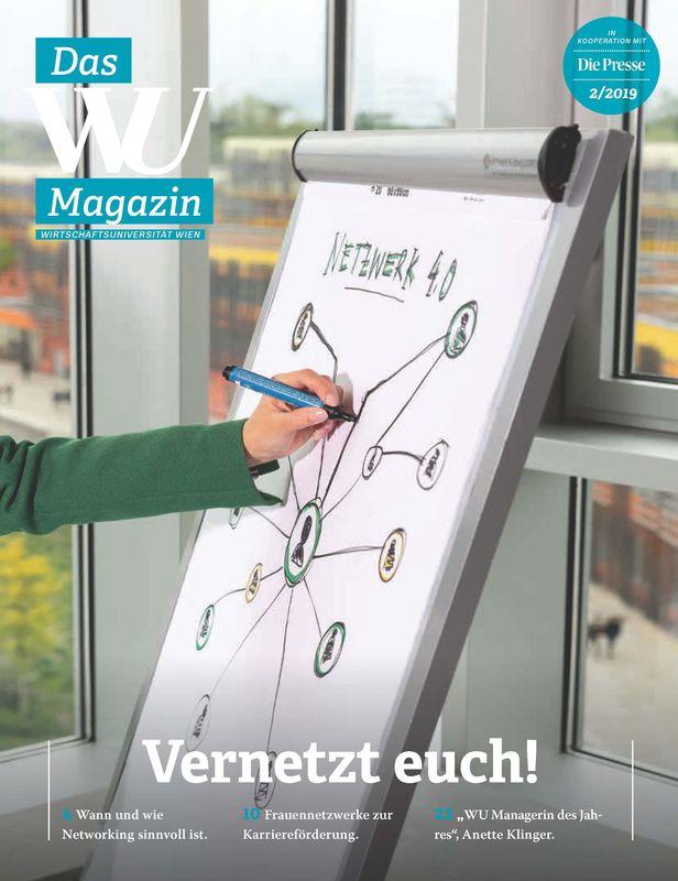 Bucheinband von 'WU Magazin - Information aus der Wirtschaftsuniversität Wien, Band 2/2019'