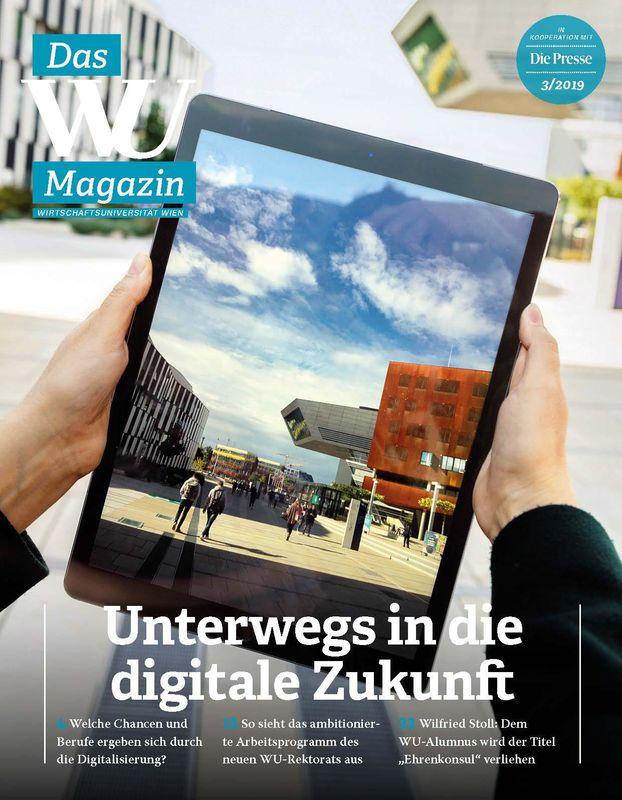 Bucheinband von 'WU Magazin - Information aus der Wirtschaftsuniversität Wien, Band 3/2019'
