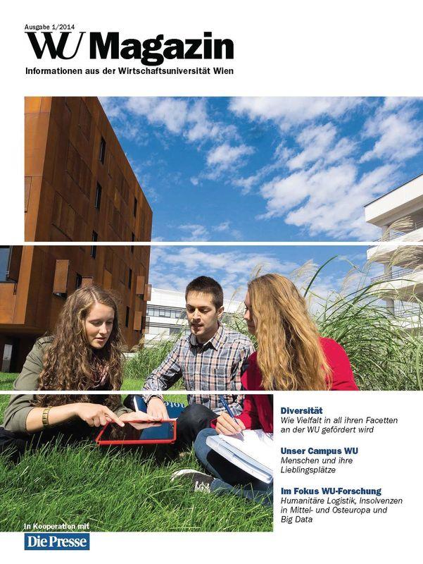 Bucheinband von 'WU Magazin - Information aus der Wirtschaftsuniversität Wien, Band 1/2014'