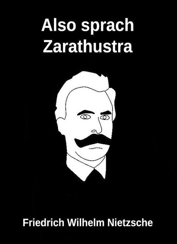 Bucheinband von 'Also sprach Zarathustra'