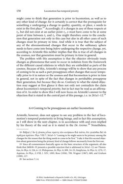 Bild der Seite - 150 - in The Priority of Locomotion in Aristotle's Physics
