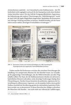 Bild der Seite - 143 - in Auf die Tour! - Jüdinnen und Juden in Singspielhalle, Kabarett und Varieté