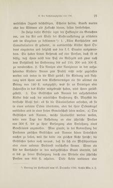 Image of the Page - 21 - in Die Aufhebung der Klöster in Innerösterreich - 1782-1790
