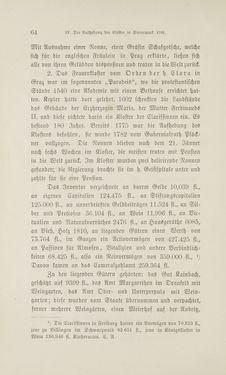 Bild der Seite - 64 - in Die Aufhebung der Klöster in Innerösterreich - 1782-1790
