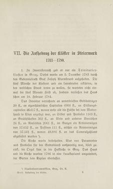 Bild der Seite - 113 - in Die Aufhebung der Klöster in Innerösterreich - 1782-1790