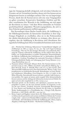 Bild der Seite - 15 - in Aufklärung habsburgisch - Staatsbildung, Wissenskultur und Geschichtspolitik in Zentraleuropa 1750–1850