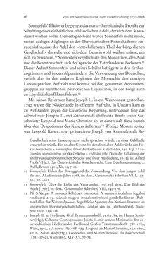 Bild der Seite - 26 - in Aufklärung habsburgisch - Staatsbildung, Wissenskultur und Geschichtspolitik in Zentraleuropa 1750–1850