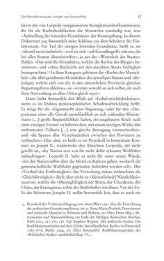 Bild der Seite - 27 - in Aufklärung habsburgisch - Staatsbildung, Wissenskultur und Geschichtspolitik in Zentraleuropa 1750–1850