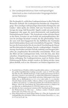 Image of the Page - 30 - in Aufklärung habsburgisch - Staatsbildung, Wissenskultur und Geschichtspolitik in Zentraleuropa 1750–1850