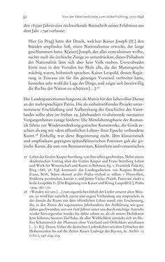 Bild der Seite - 32 - in Aufklärung habsburgisch - Staatsbildung, Wissenskultur und Geschichtspolitik in Zentraleuropa 1750–1850