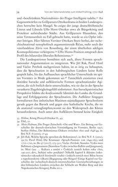 Bild der Seite - 34 - in Aufklärung habsburgisch - Staatsbildung, Wissenskultur und Geschichtspolitik in Zentraleuropa 1750–1850