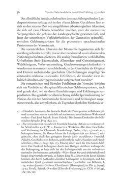 Bild der Seite - 36 - in Aufklärung habsburgisch - Staatsbildung, Wissenskultur und Geschichtspolitik in Zentraleuropa 1750–1850