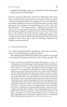 Image of the Page - 49 - in Aufklärung habsburgisch - Staatsbildung, Wissenskultur und Geschichtspolitik in Zentraleuropa 1750–1850