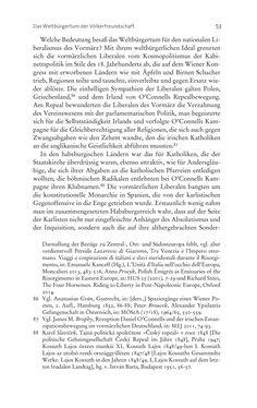 Bild der Seite - 53 - in Aufklärung habsburgisch - Staatsbildung, Wissenskultur und Geschichtspolitik in Zentraleuropa 1750–1850