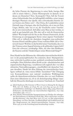 Bild der Seite - 56 - in Aufklärung habsburgisch - Staatsbildung, Wissenskultur und Geschichtspolitik in Zentraleuropa 1750–1850